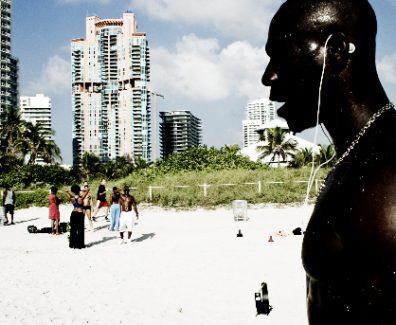 Bo on beach