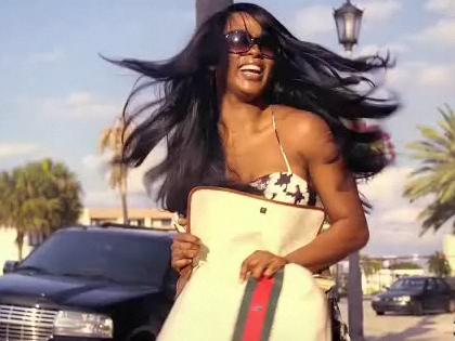 Ethnicity Model Amanda Brown lead girl in music video