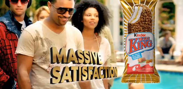 Ethnicity Models in German MAxi King Commercial w/ Shaggy