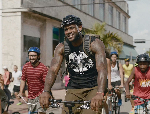 "Lebron James Nike "" Training day"" Commercial features tons of Ethnicity Talent"